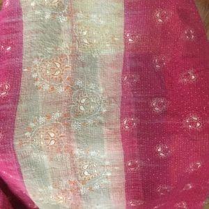 Stunning Kantha quilt!